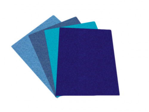 Feutrine en nuance bleu - Nuance de bleu synonyme ...