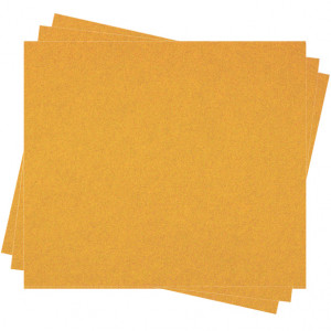 Pochette feutrine Jaune d'or 0119 (x12 coupons)