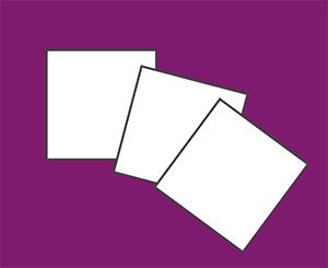 Feutrine Adhésive 1mm en coupons