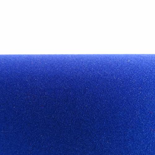 Velours Adhésif Bleu au mètre