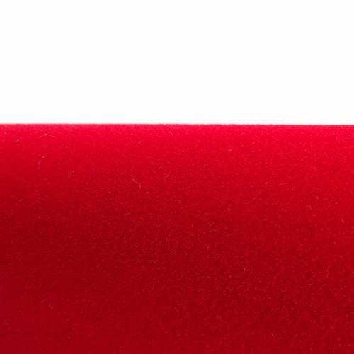 Velours Adhésif Rouge en Rouleaux