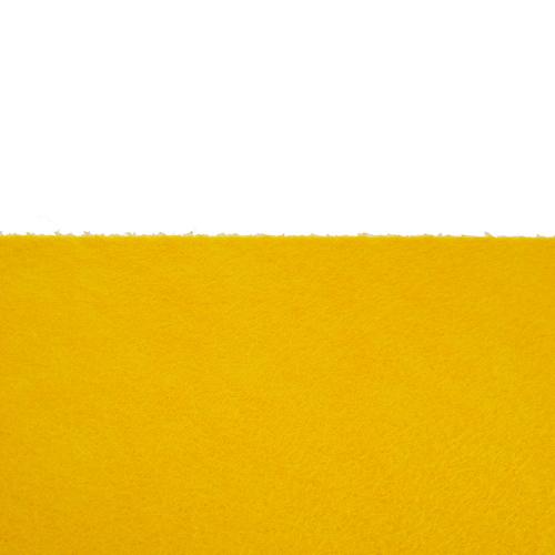 Feutrine adhésive jaune d'Or 0119