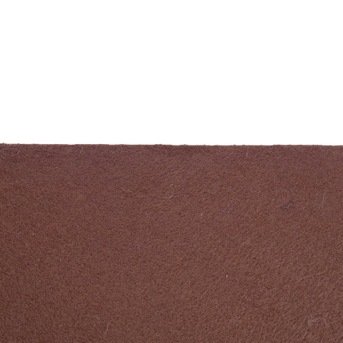 Feutrine adhésive brun chocolat 0186