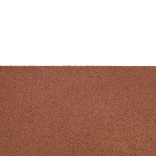 Feutrine adhésive brun café 0187
