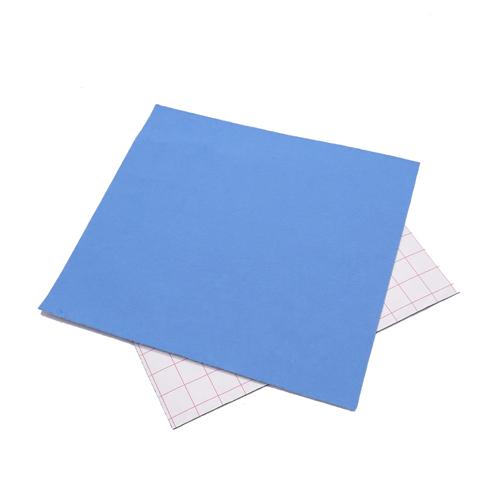 Coupon feutrine adhésive Bleu Ciel 0151
