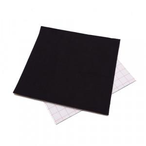 Coupon feutrine adhésive Noir 0148