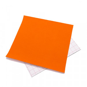 Coupon feutrine adhésive Orange 0123
