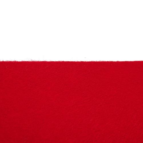 Coupon feutrine adhésive Rouge 0126