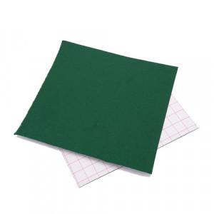 Coupon feutrine adhésive Vert billard 0165