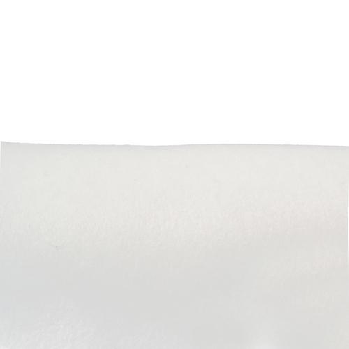 Coupon feutrine adhésive Blanc 0149