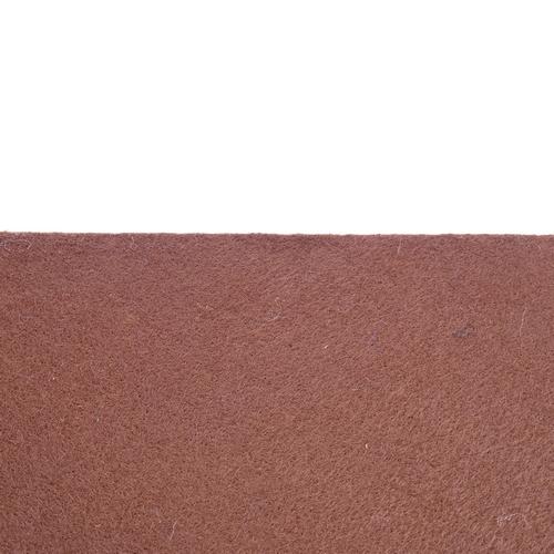 Coupon feutrine adhésive Brun chocolat 0186