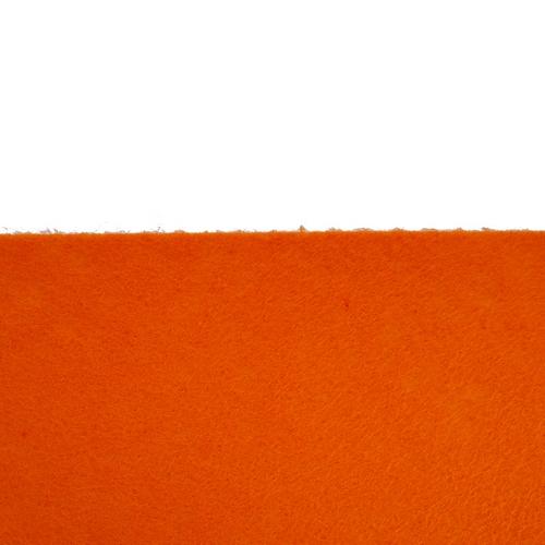 Coupon feutrine adhésive Orange 0123