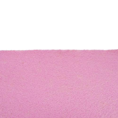 Coupon feutrine adhésive Rose pale 30017