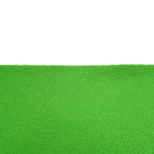 Coupon feutrine adhésive Vert gazon 0168