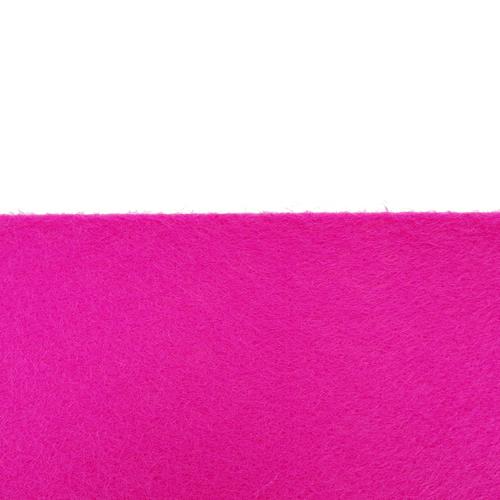 Rouleau de feutrine adhésive Rose Fushia 30023