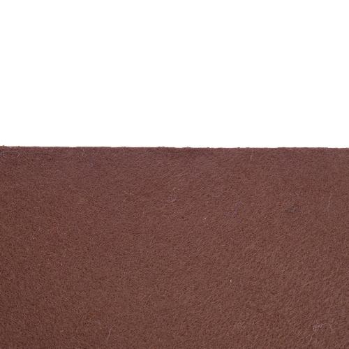 Rouleau de feutrine adhésive Brun chocolat 0186