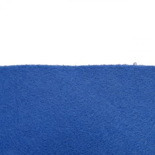 Feutrine 1mm au mètre, Bleu 0152