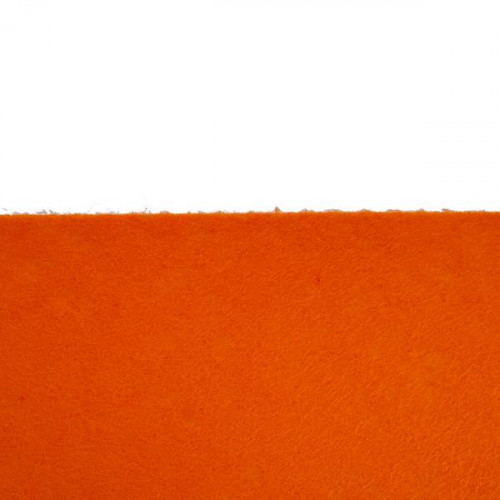 Feutrine 1mm au mètre, Orange 0123