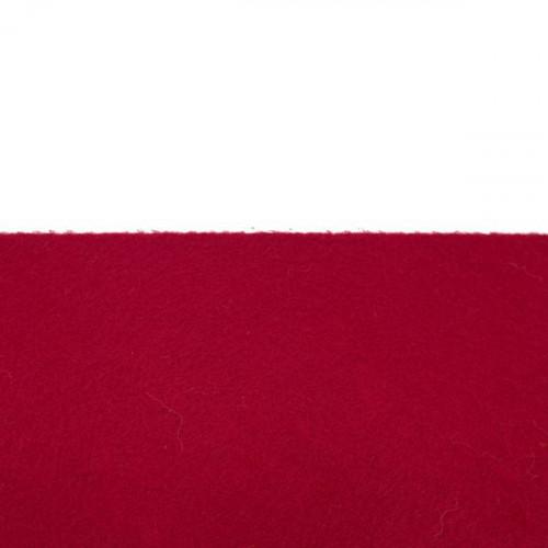 Feutrine 1mm au mètre, Rouge bordeaux 0128