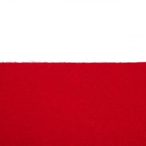 Feutrine 1mm au mètre, Rouge 0126