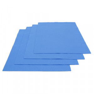 Pochette feutrine Bleu ciel 0151 (x12 coupons)