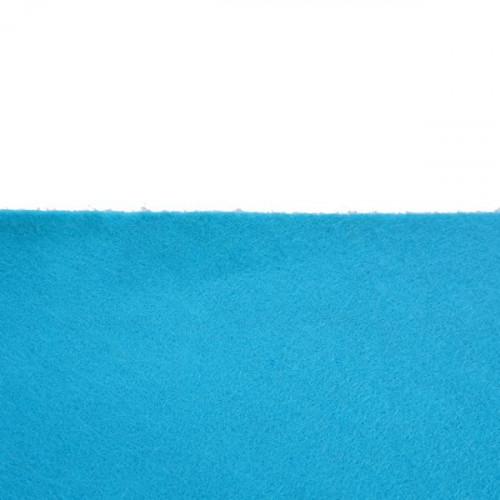 Coupon Feutrine Bleu outre-mer 0157