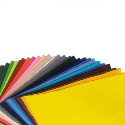 Lot Echantillons de feutrine classique 1mm (1 coupon 25x30 cm de chaque couleur)
