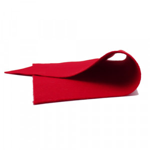 Coupon Feutrine Rouge feu 0126
