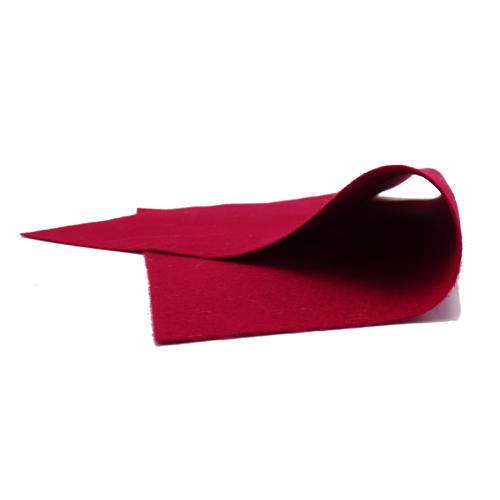 Coupon Feutrine Rouge bordeaux 0128