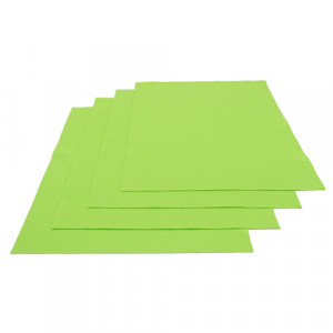 Pochette feutrine Vert clair 0169 (x12 coupons)