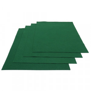Pochette feutrine Vert Billard 0165 (x12 coupons)