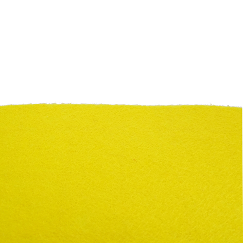 Coupon Feutrine Jaune vif 0118