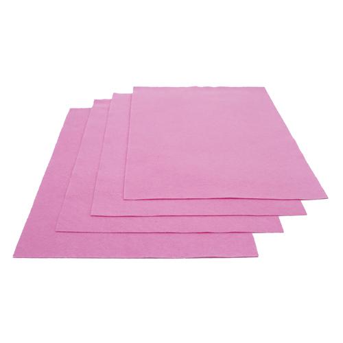 Pochette feutrine Rose pâle 30017 (x12 coupons)