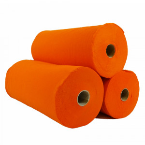 Rouleau de feutrine Orange 0123