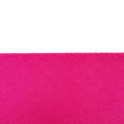 Rouleau de feutrine Rose fushia 30023