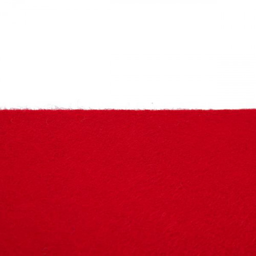 Rouleau de feutrine Rouge 0126