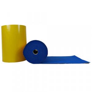 Feutrine épaisse adhésive bleu 0153