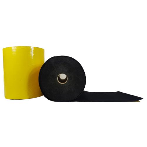 Feutrine épaisse adhésive Noir 0148