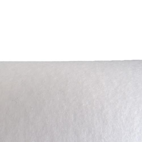 Coupon feutrine épaisse adhésive 3mm, Blanc 0149
