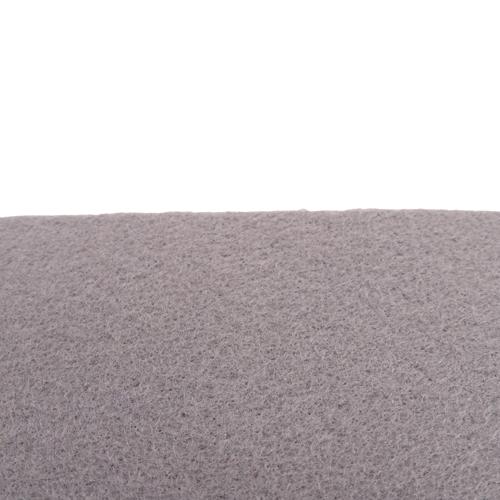 Coupon feutrine épaisse adhésive 3mm, Gris souris 0144