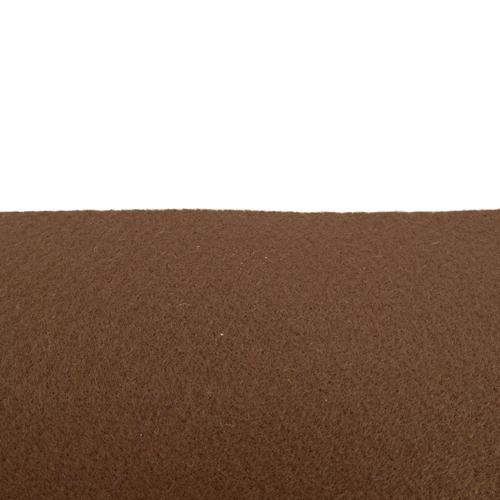 Coupon feutrine épaisse adhésive 3mm, Brun café 0187