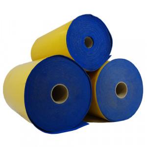 Rouleau de feutrine épaisse adhésive, Bleu 0153