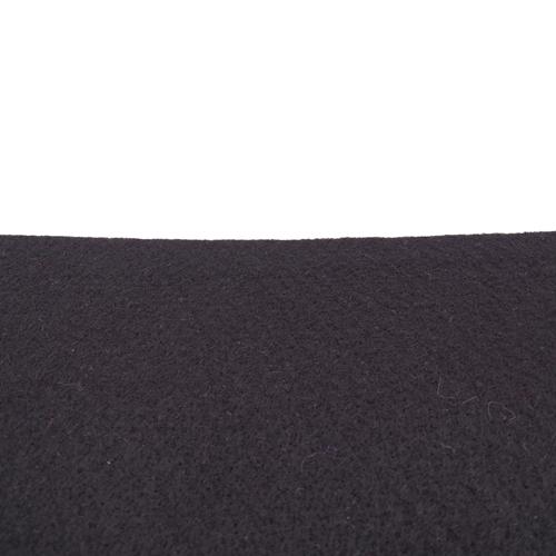 Rouleau de feutrine épaisse adhésive, Noir 0148