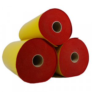 Rouleau de feutrine épaisse adhésive, Rouge 0126