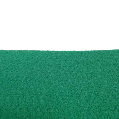 Rouleau de feutrine épaisse adhésive, Vert Billard 0165