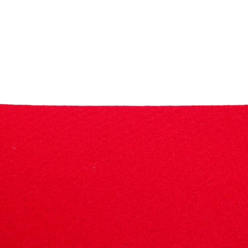 Coupon feutrine epaisse 3mm, Rouge 0126