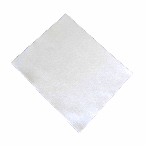 Coupon feutrine epaisse 3mm, Blanc 0149