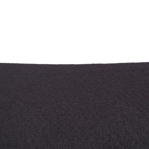 Coupon feutrine epaisse 3mm, Noir 0148
