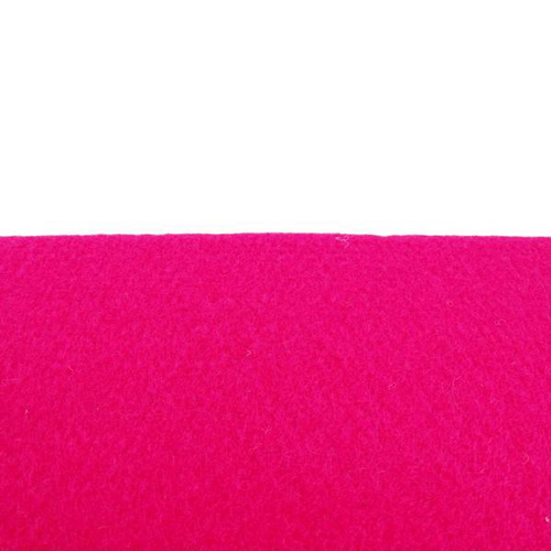 Coupon feutrine epaisse 3mm, Rose fuchsia 30023