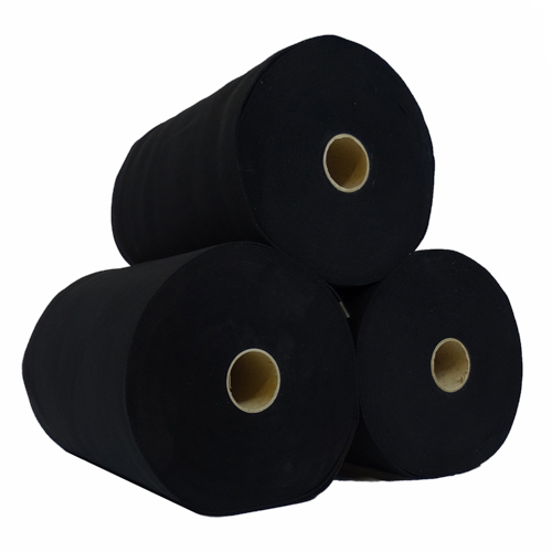 Rouleau de feutrine épaisse - Noir 0148